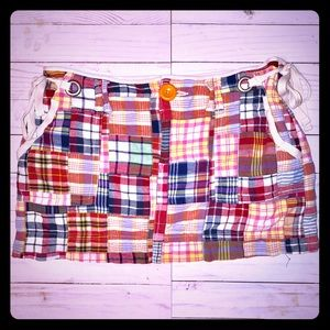 American Eagle Outfitters plaid mini skirt size 8